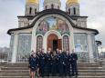 Хор курсантов института принял участие в божественной литургии в честь праздника Рождества пресвятой Богородицы