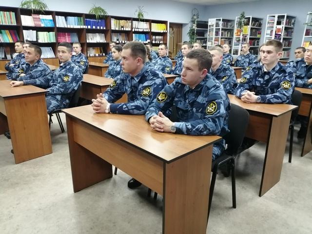 В Самарском юридическом институте состоялся литературный вечер, посвященный 205-летию со дня рождения М.Ю.Лермонтова.